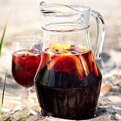 bål vitt vin fruktsoda