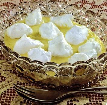 Snöbollar i vaniljsås