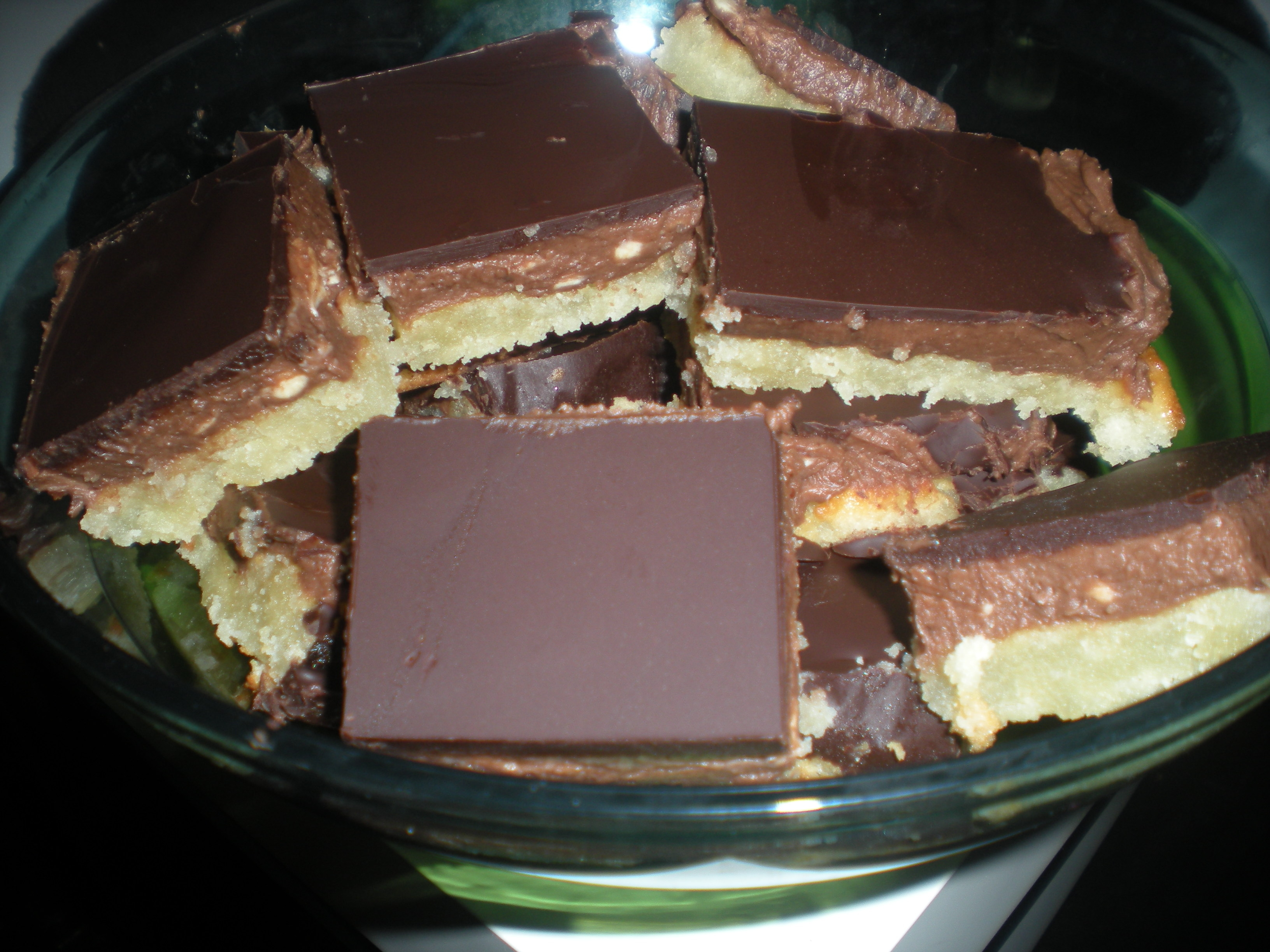 Chokladbiskvier..