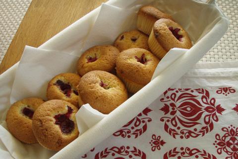 muffins hallon