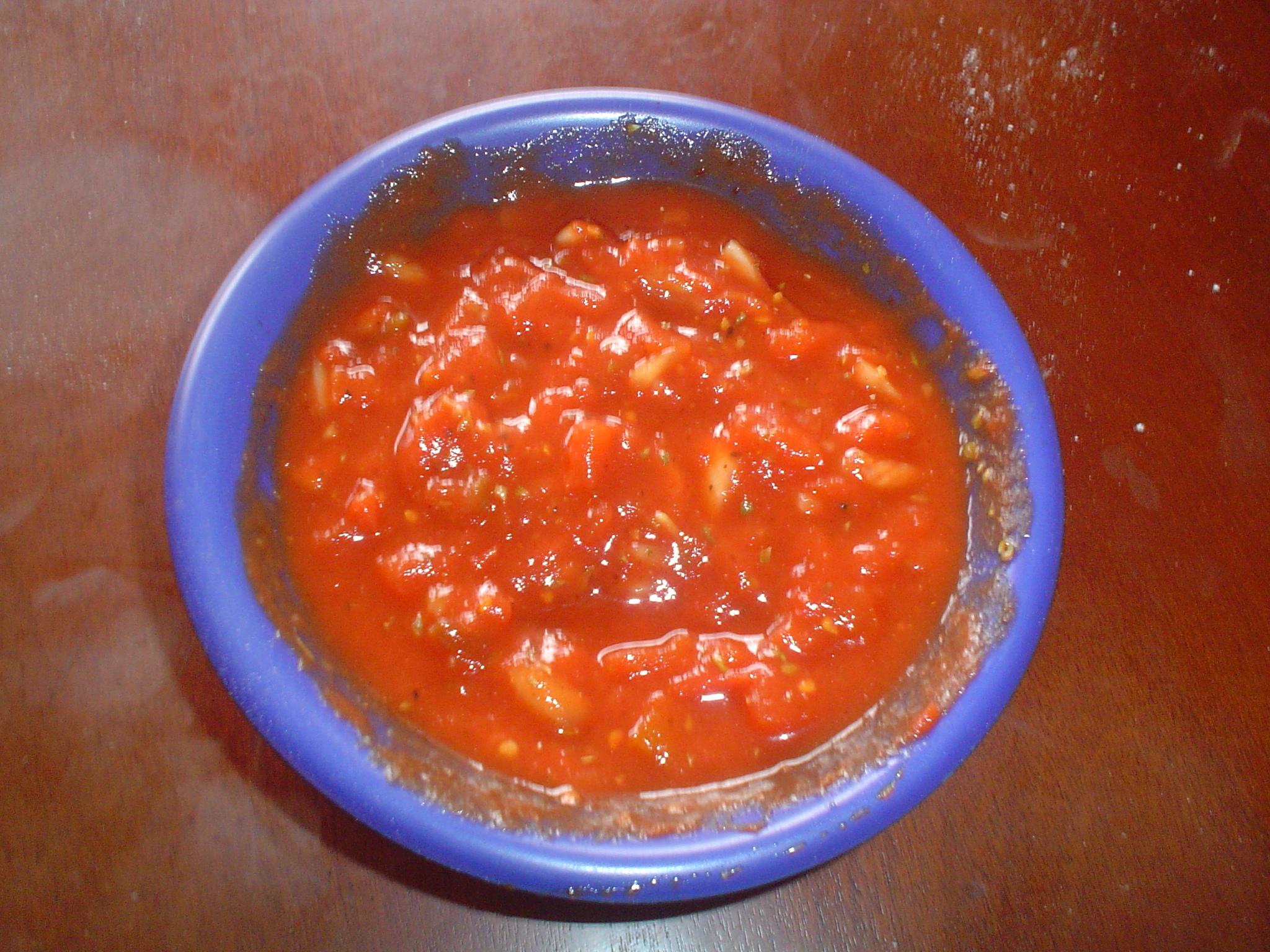Jennies goda tomatsalsa