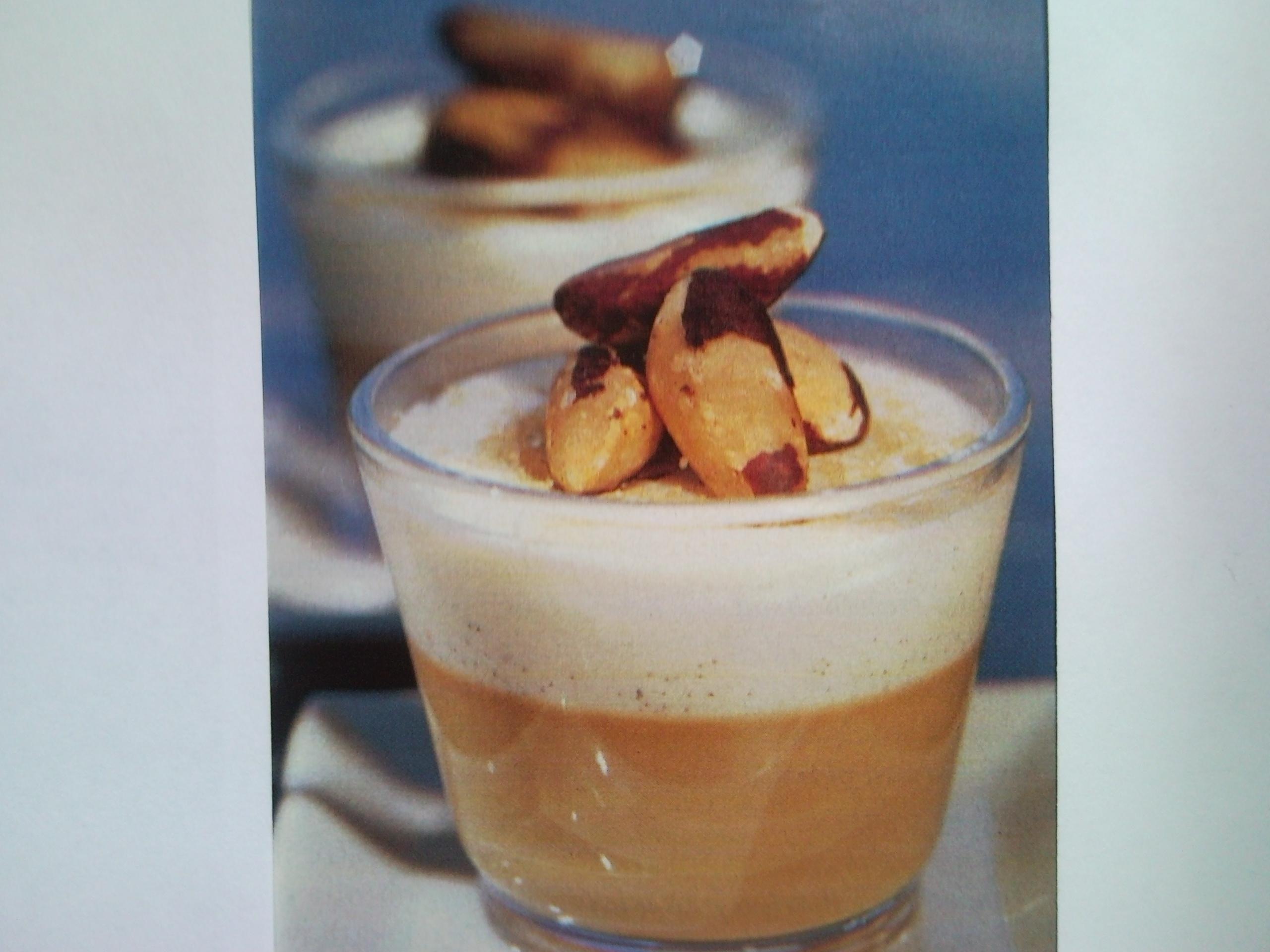 Kaffe- och vaniljpannacotta