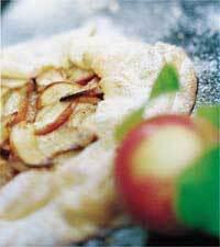 lantlig äppelkaka