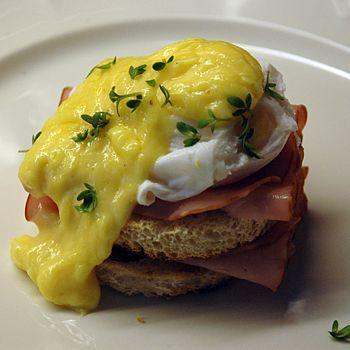Amerikansk äggmacka - Eggs Benedict