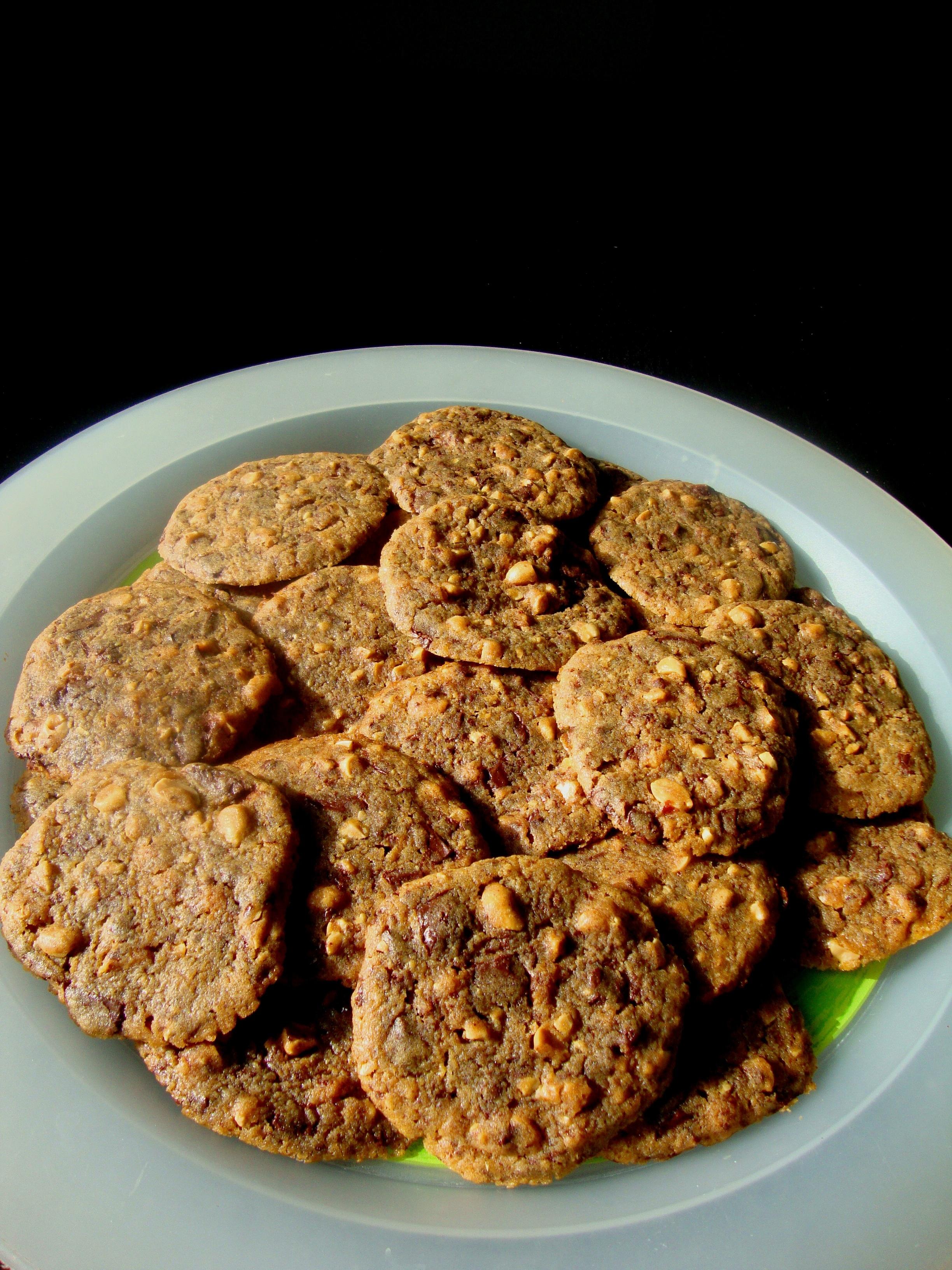 Marabou chokladkakor med ingefära och jordnötter