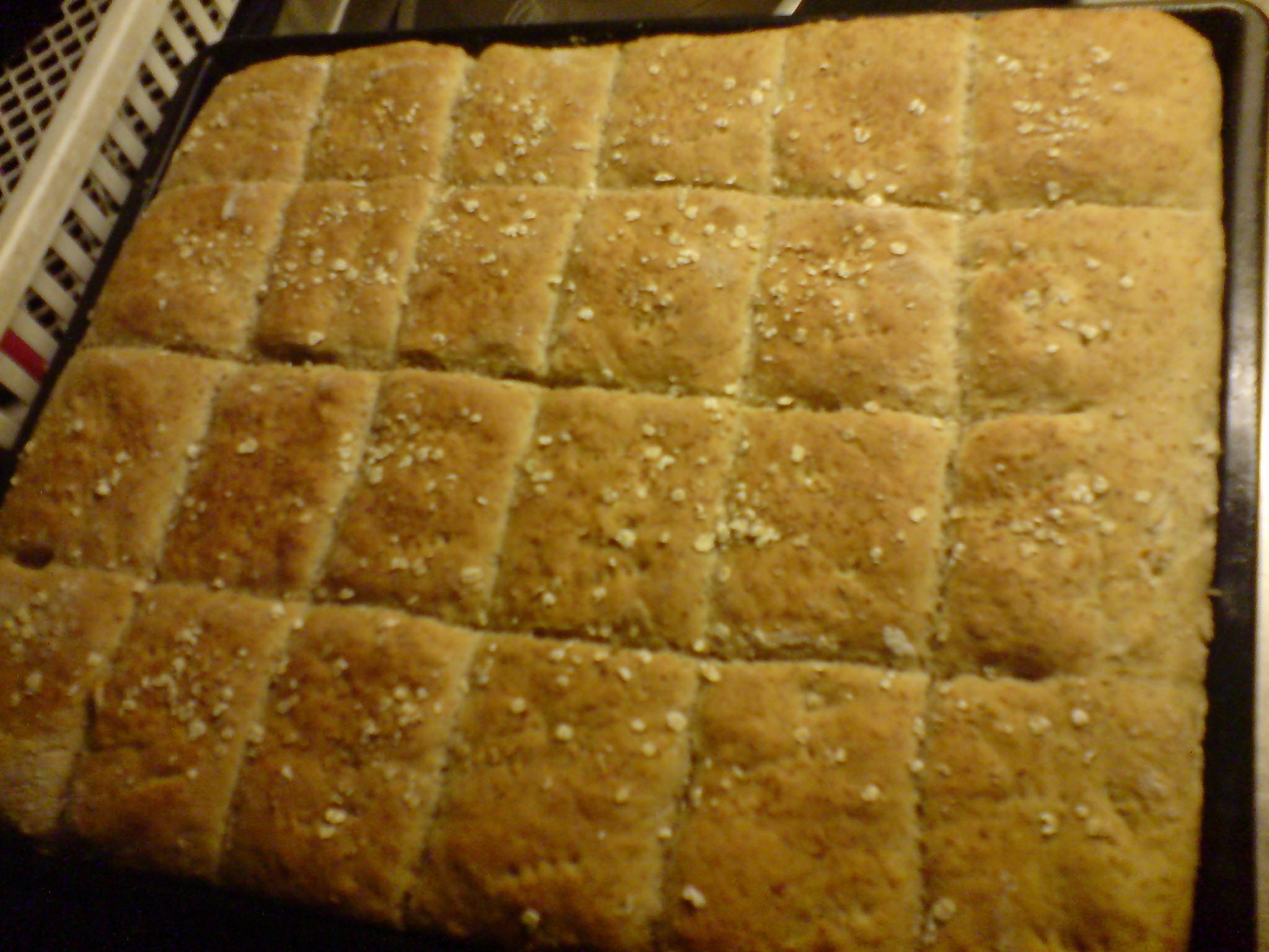 Frukostbröd med fiberberikade havregryn