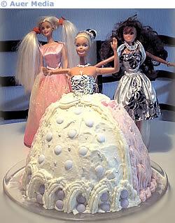 Barbie födelsedagstårta