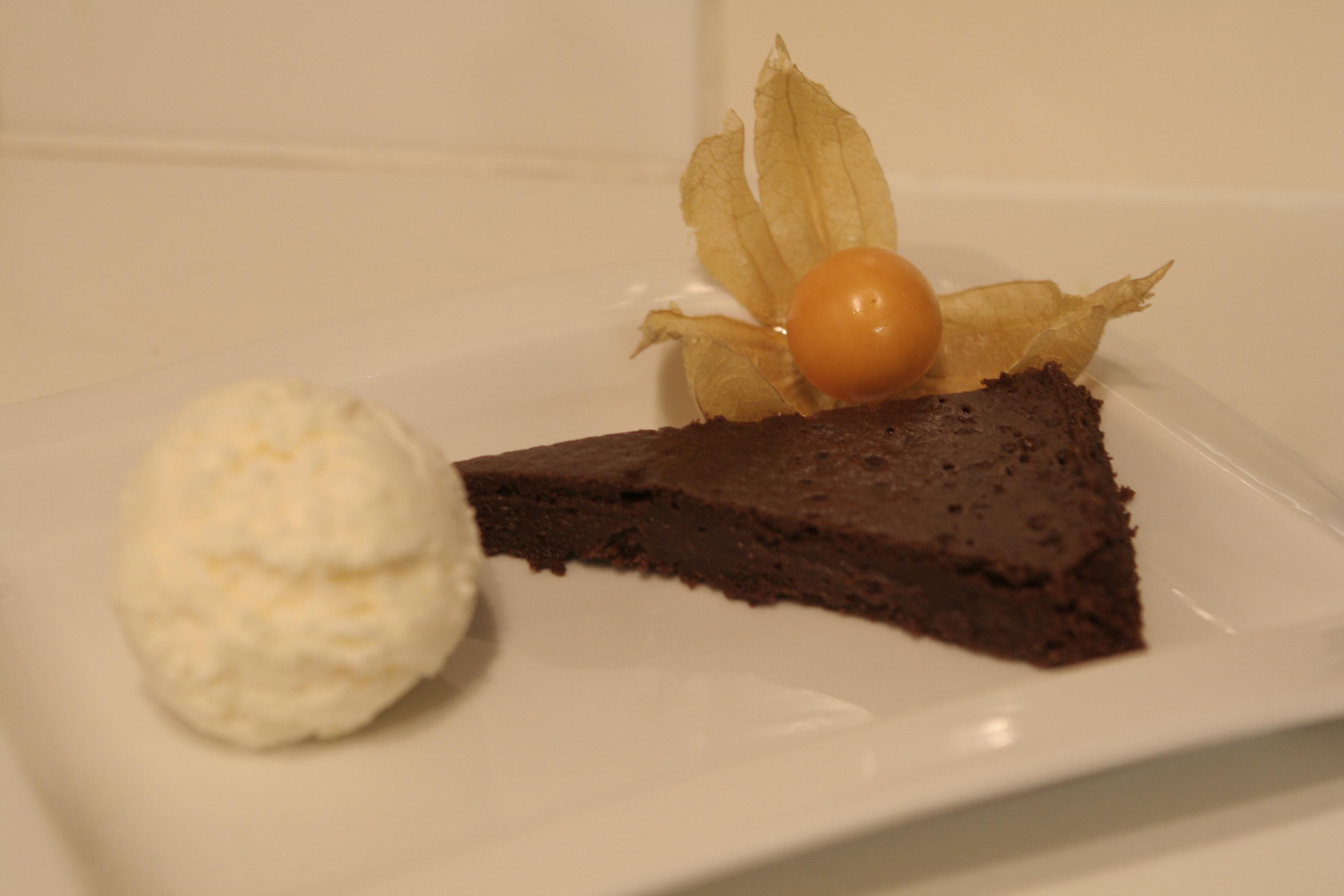 lättgjord chokladsås