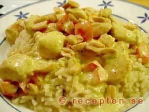 enkel currysås creme fraiche
