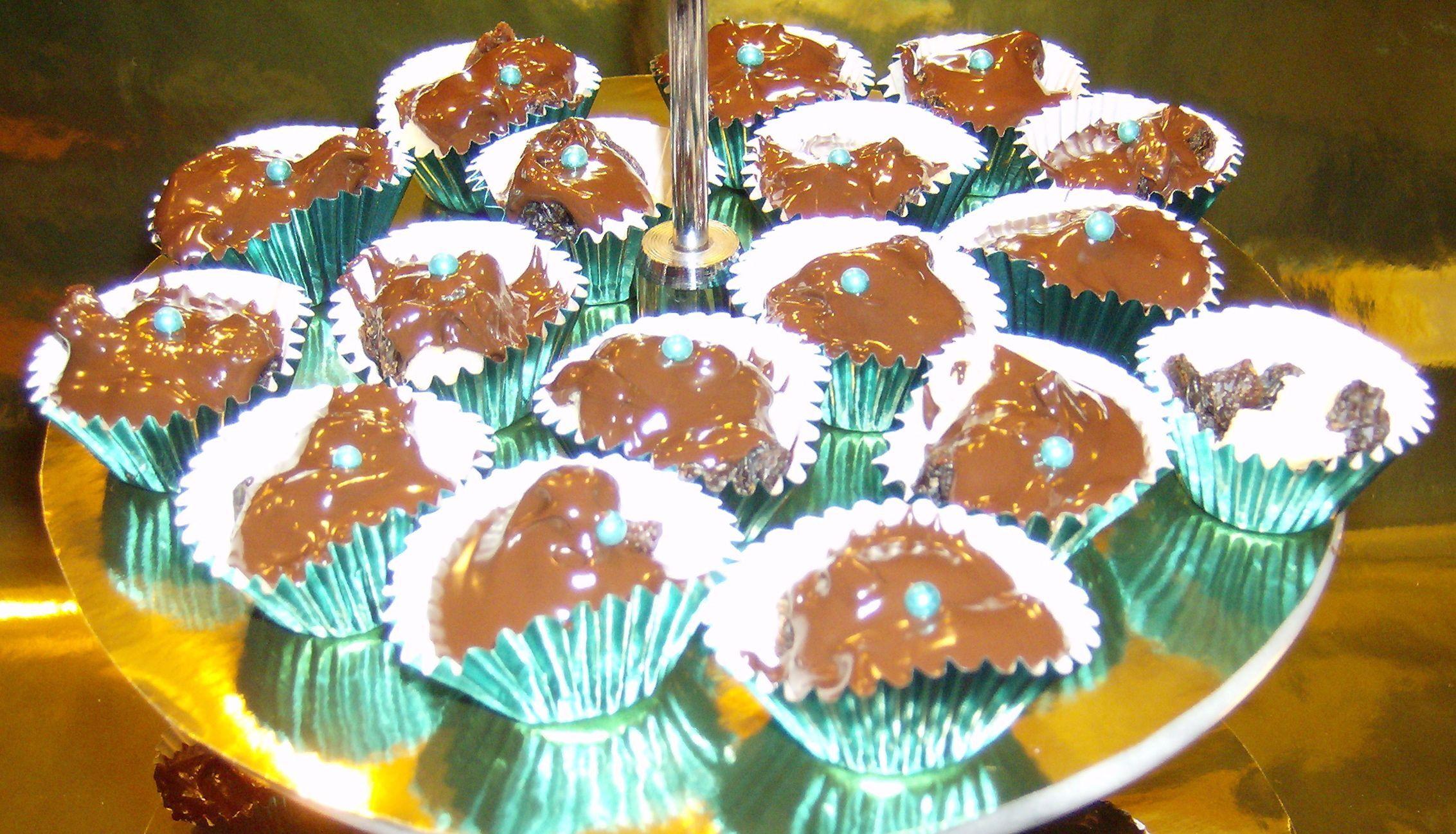 Chokladtoppar á