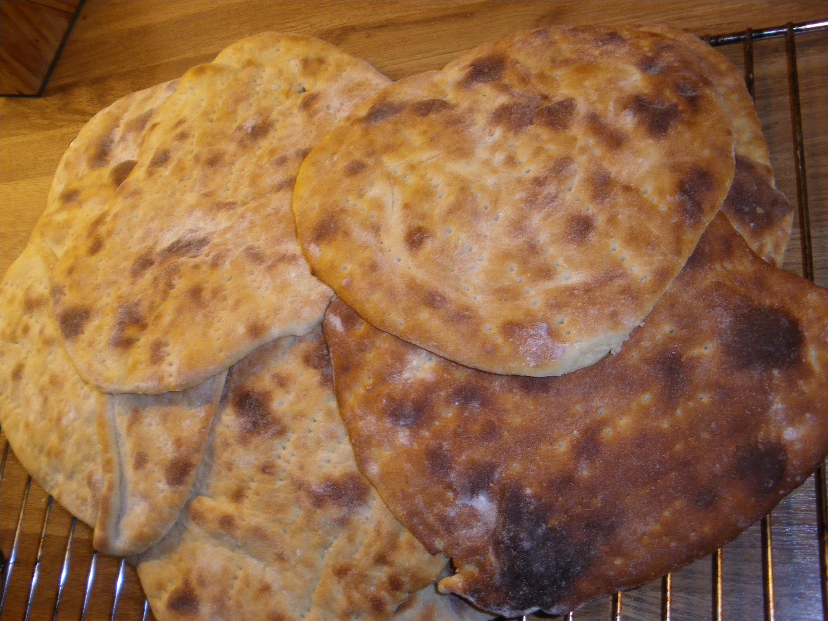 Ärtbulla-tunnbröd från Dalarna
