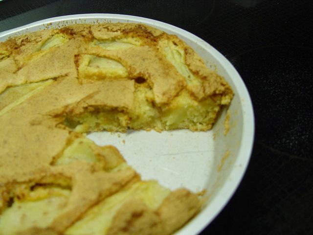 Päronkaka med ingefära & kokos