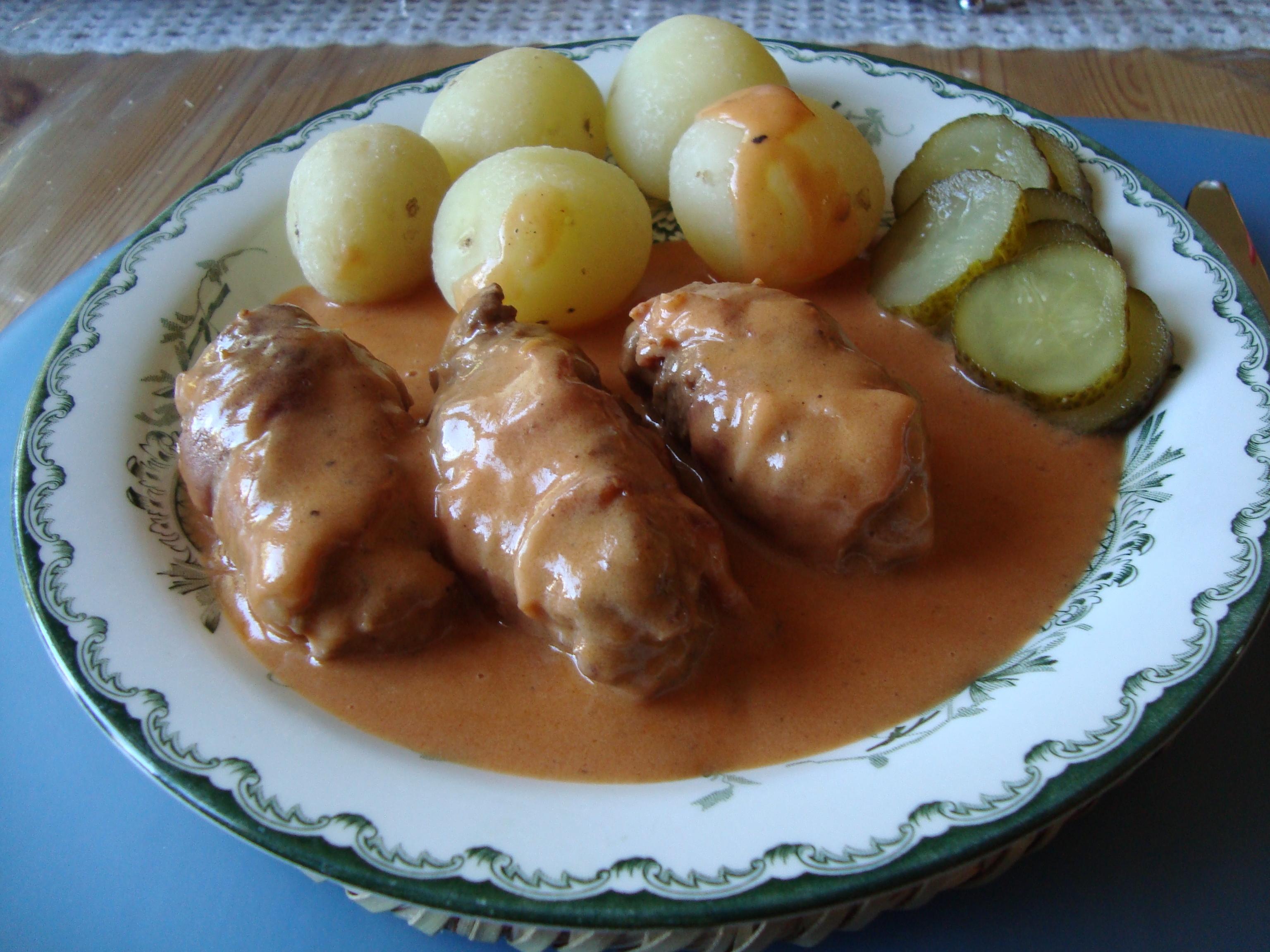fläskschnitzel rullader