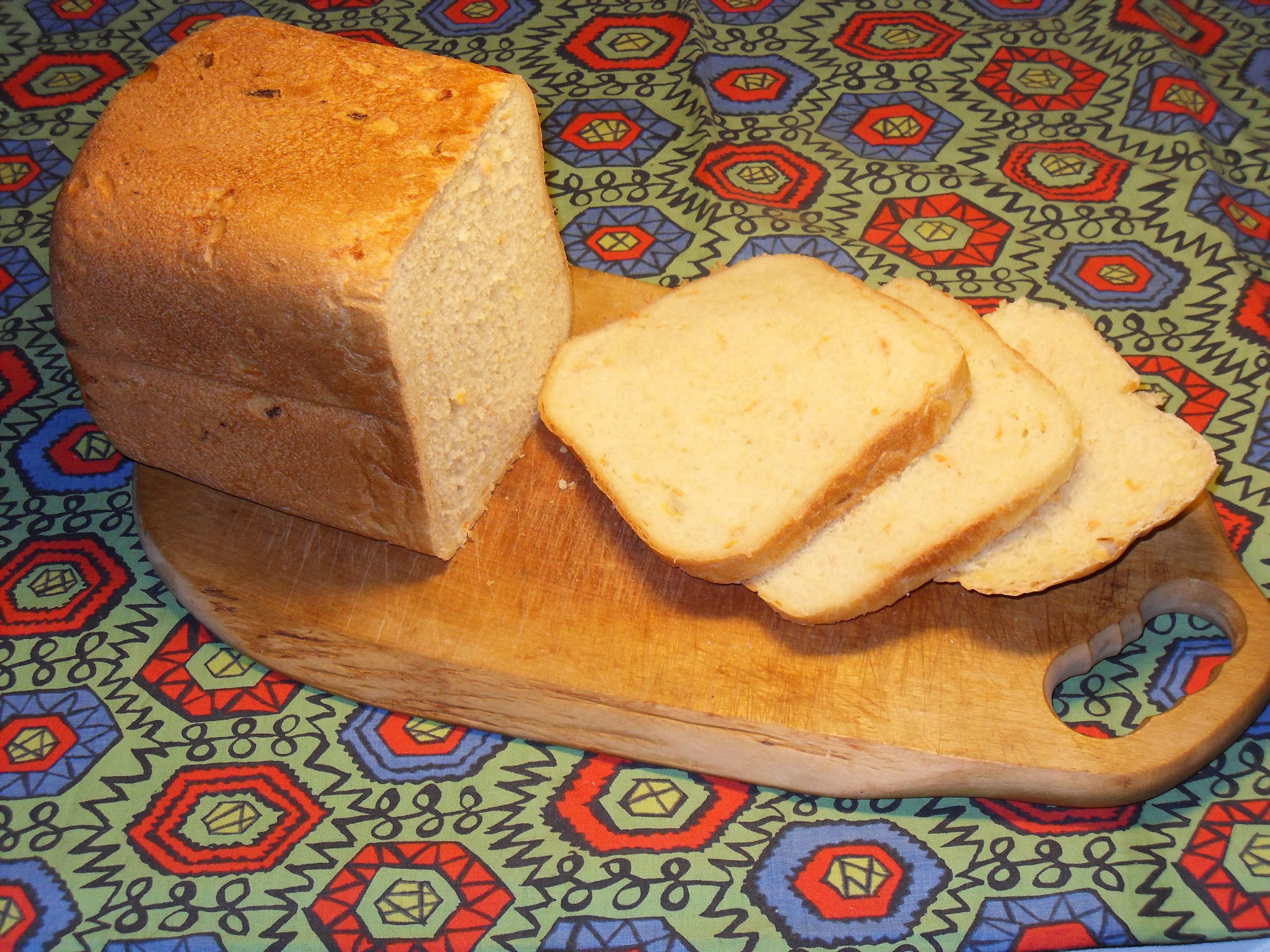 Grönsaksbröd för bakmaskin