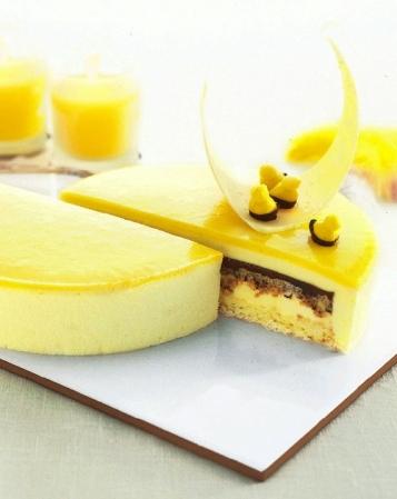 Limoncellotårta med vit choklad och kokos