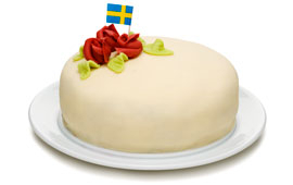sivs tårta