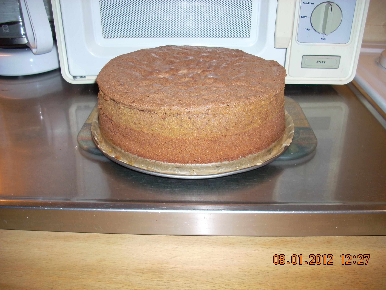 Mörk tårtbotten