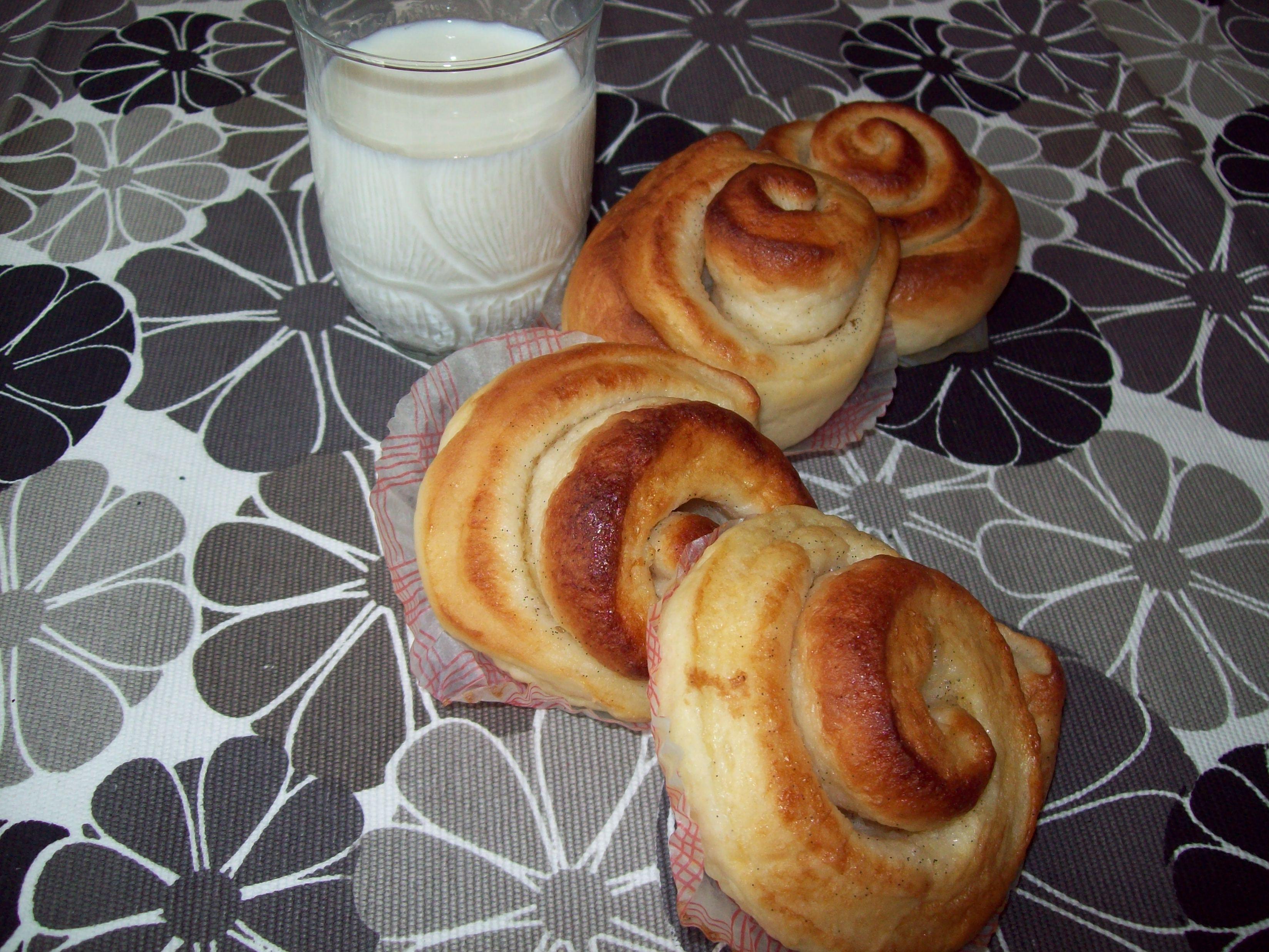 vaniljbullar äkta vaniljstång