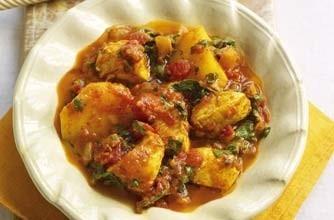indisk kyckling spenat