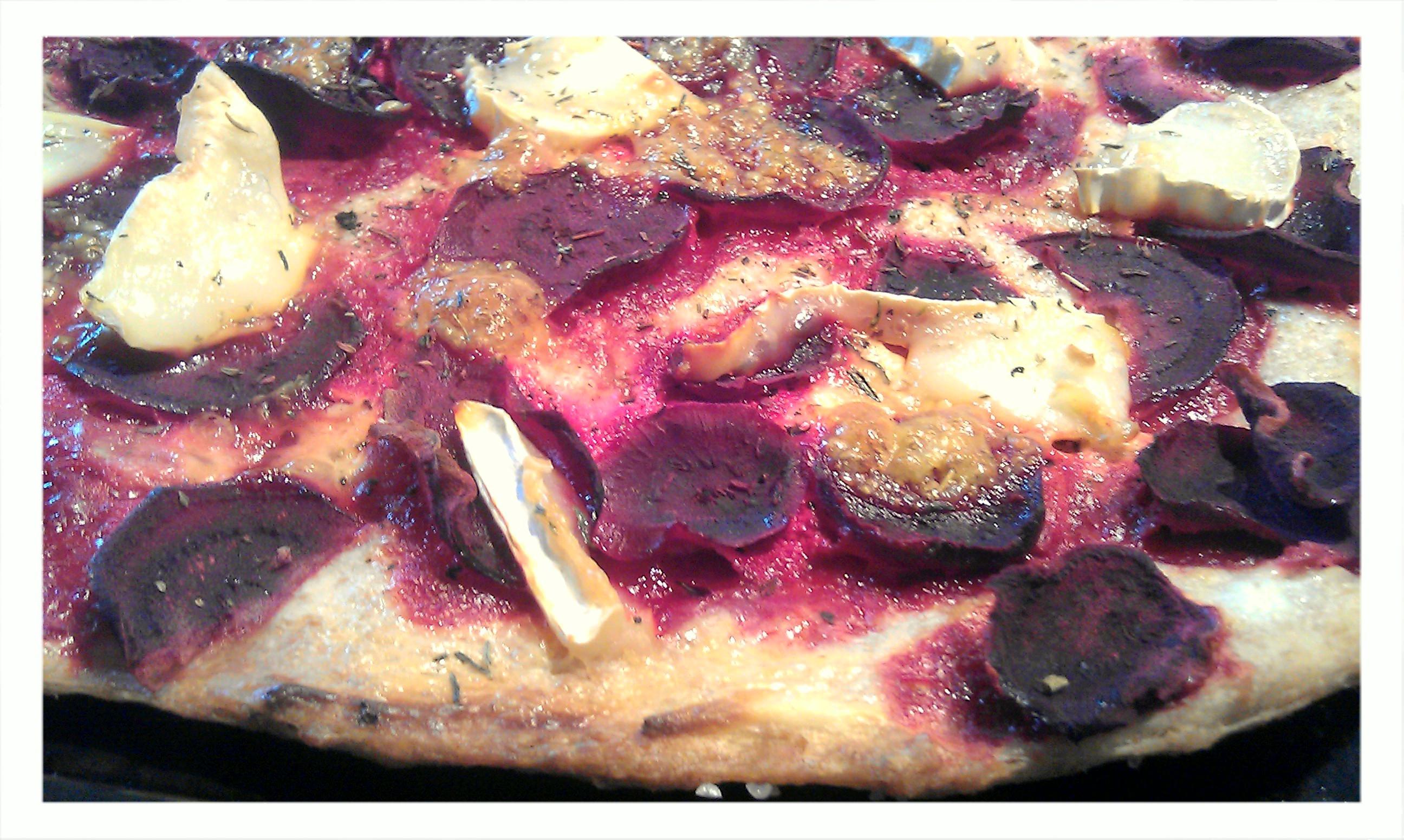 Pizza med chèvr..