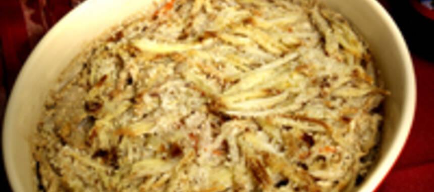 vegetarisk janssons frestelse recept