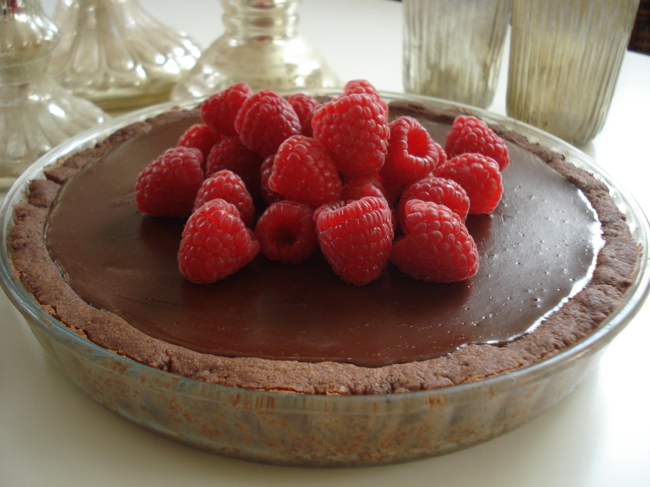 Fransk chokladpaj