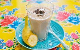 Choklad-banansmoothie