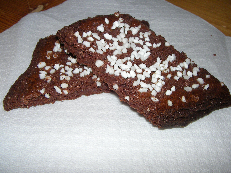 skurna chokladbröd