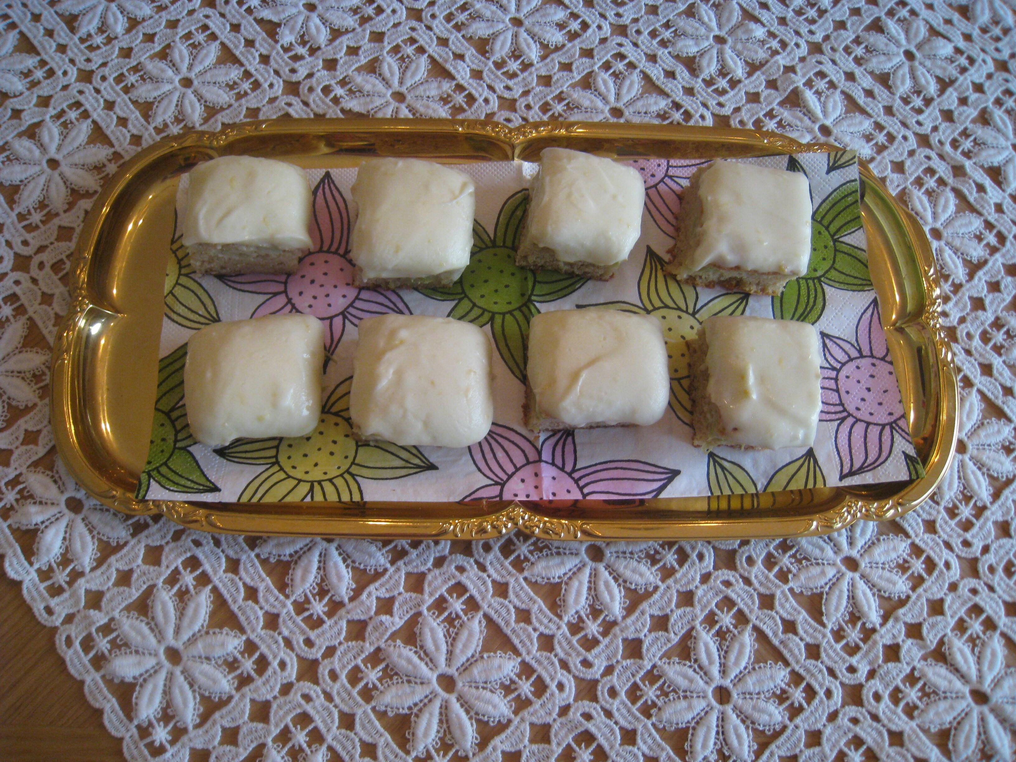 rabarberkaka med kardemumma