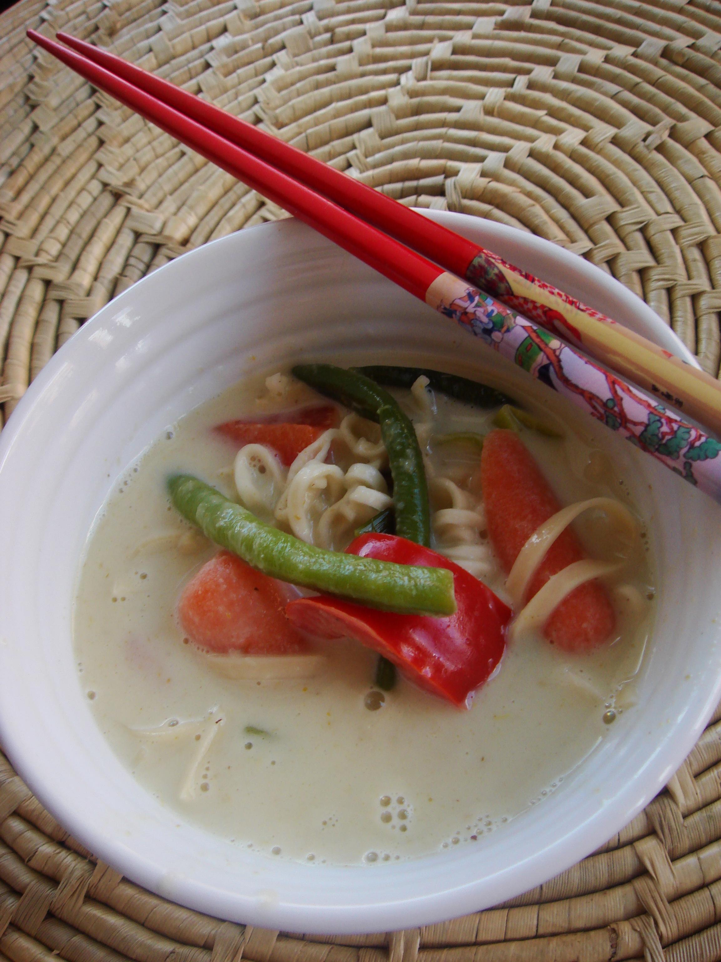 thaisoppa kokosmjölk