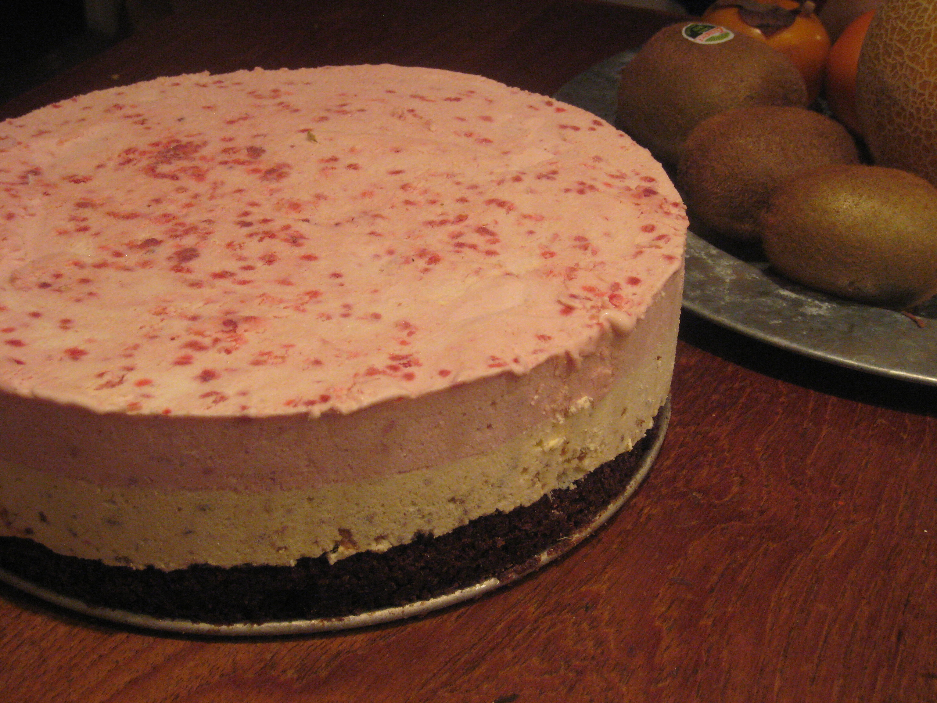 Parfait tårta..