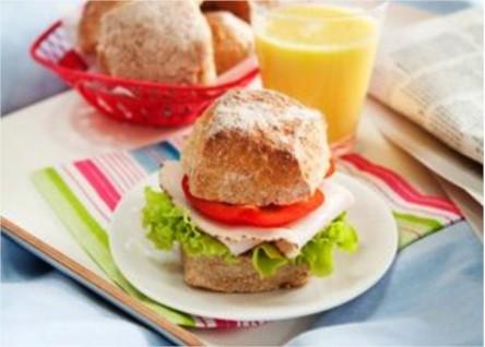 Kalljästa frukostbröd med apelsinsmak