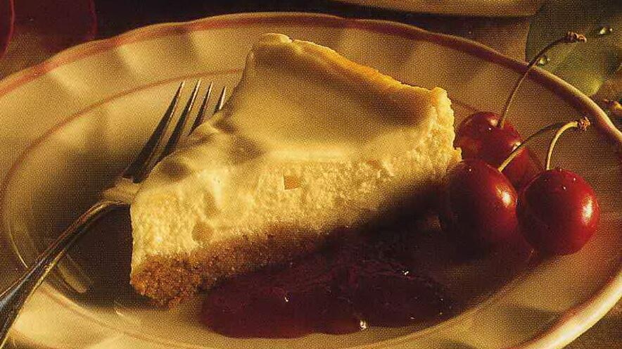 Cheesecake med smak av kanel