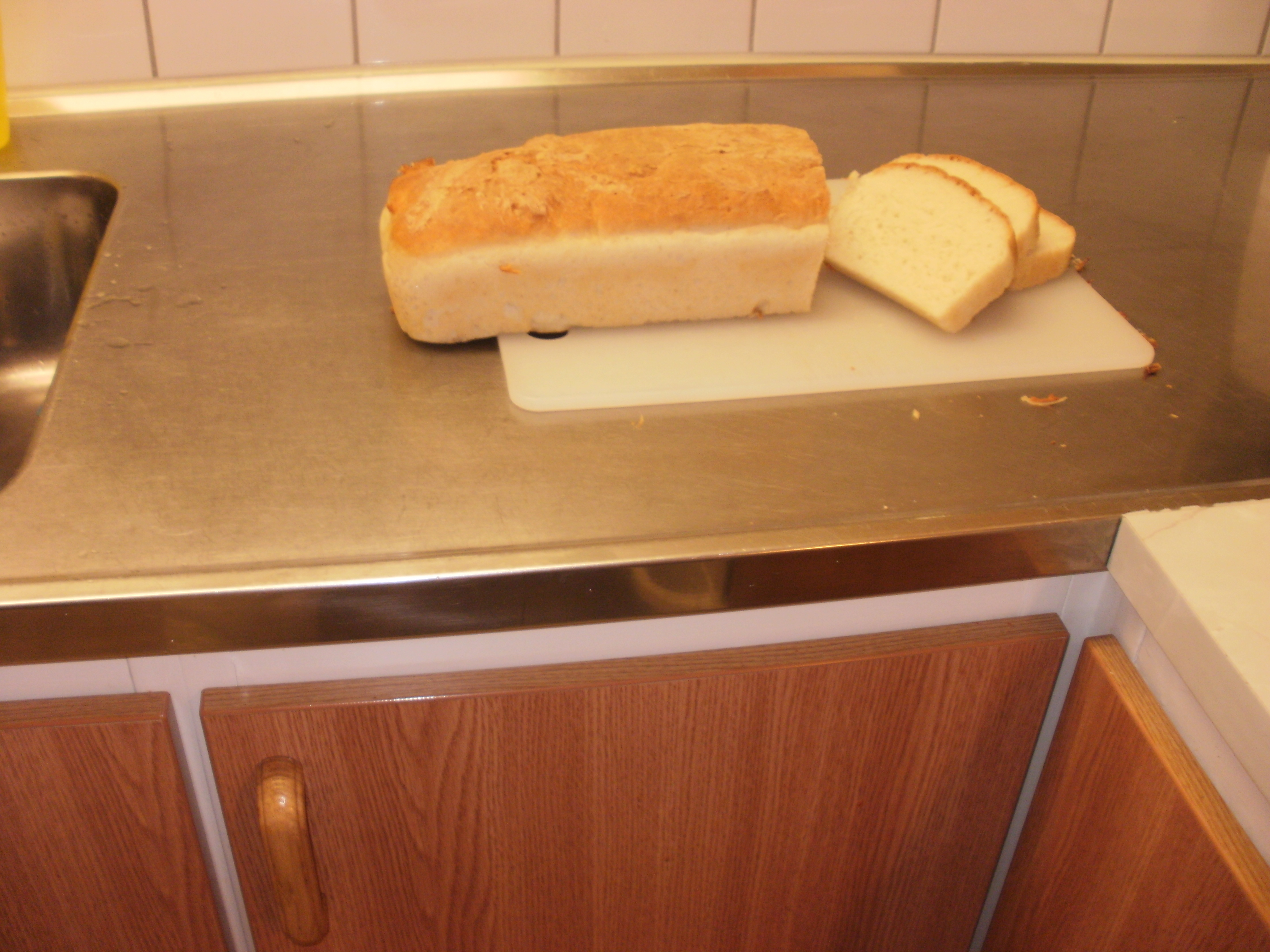 Gluten och laktosfritt formbröd