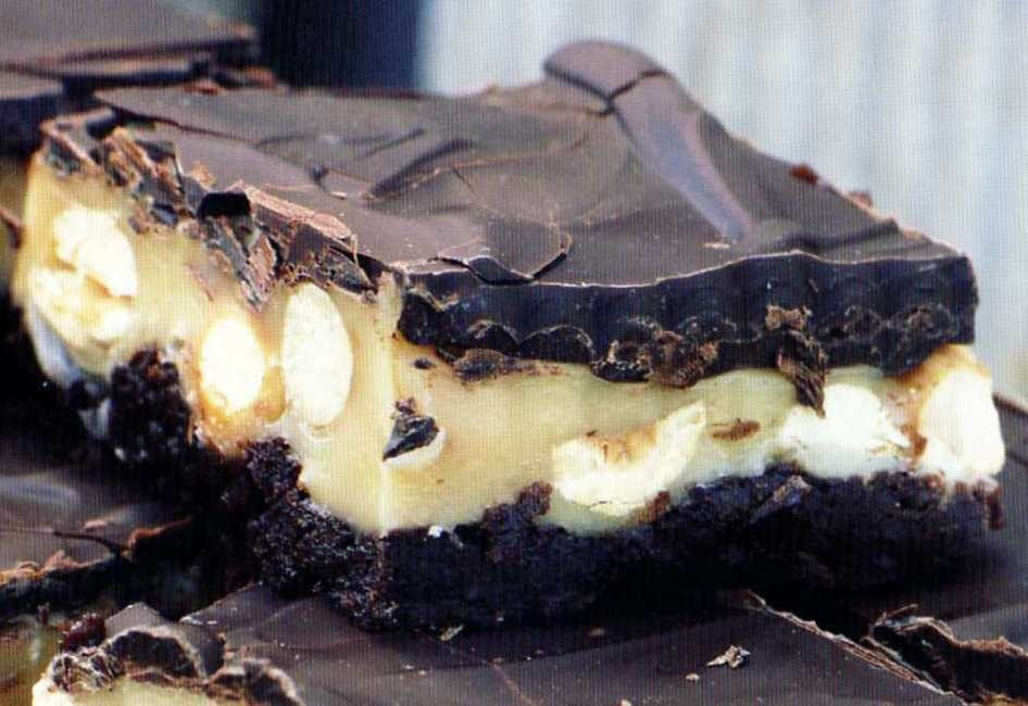 niklas mat-chokladbakelse med flytande mitten