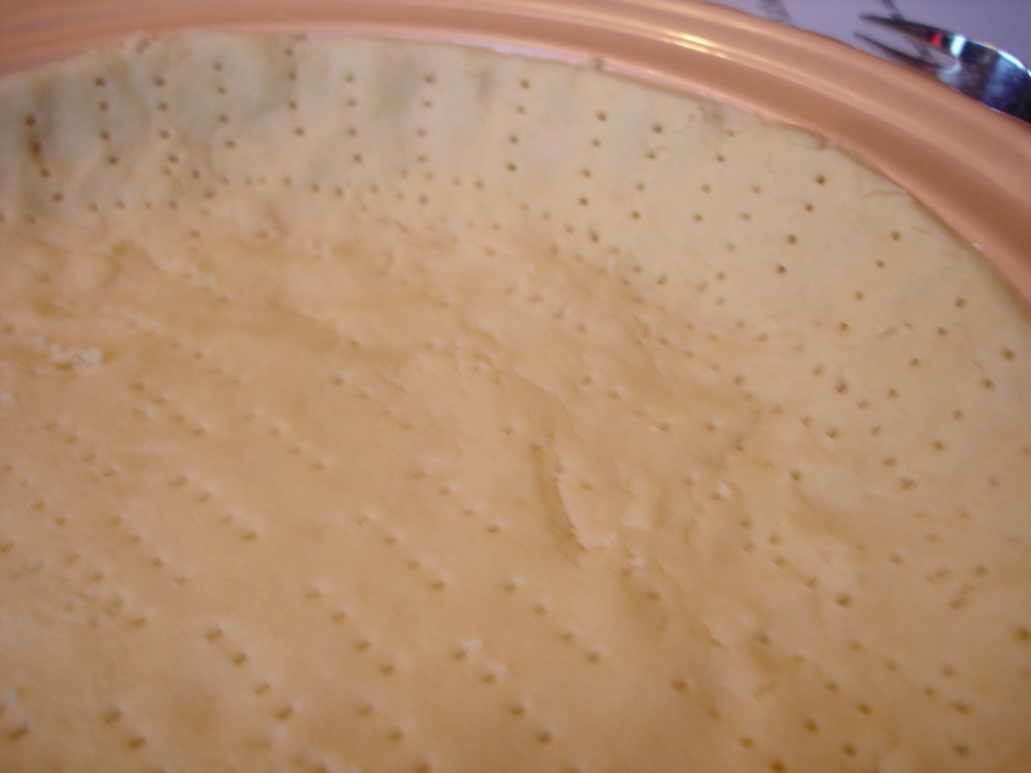 Fransk pajdeg med ägg