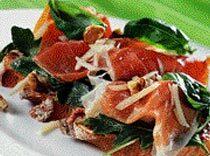 Parmaskinka med soltorkande tomater