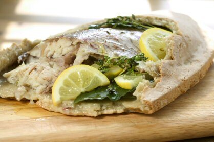Fisk i saltdeg