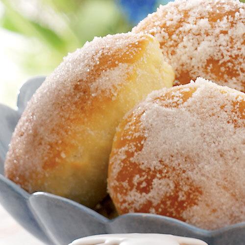 Vaniljfyllda sockerbullar