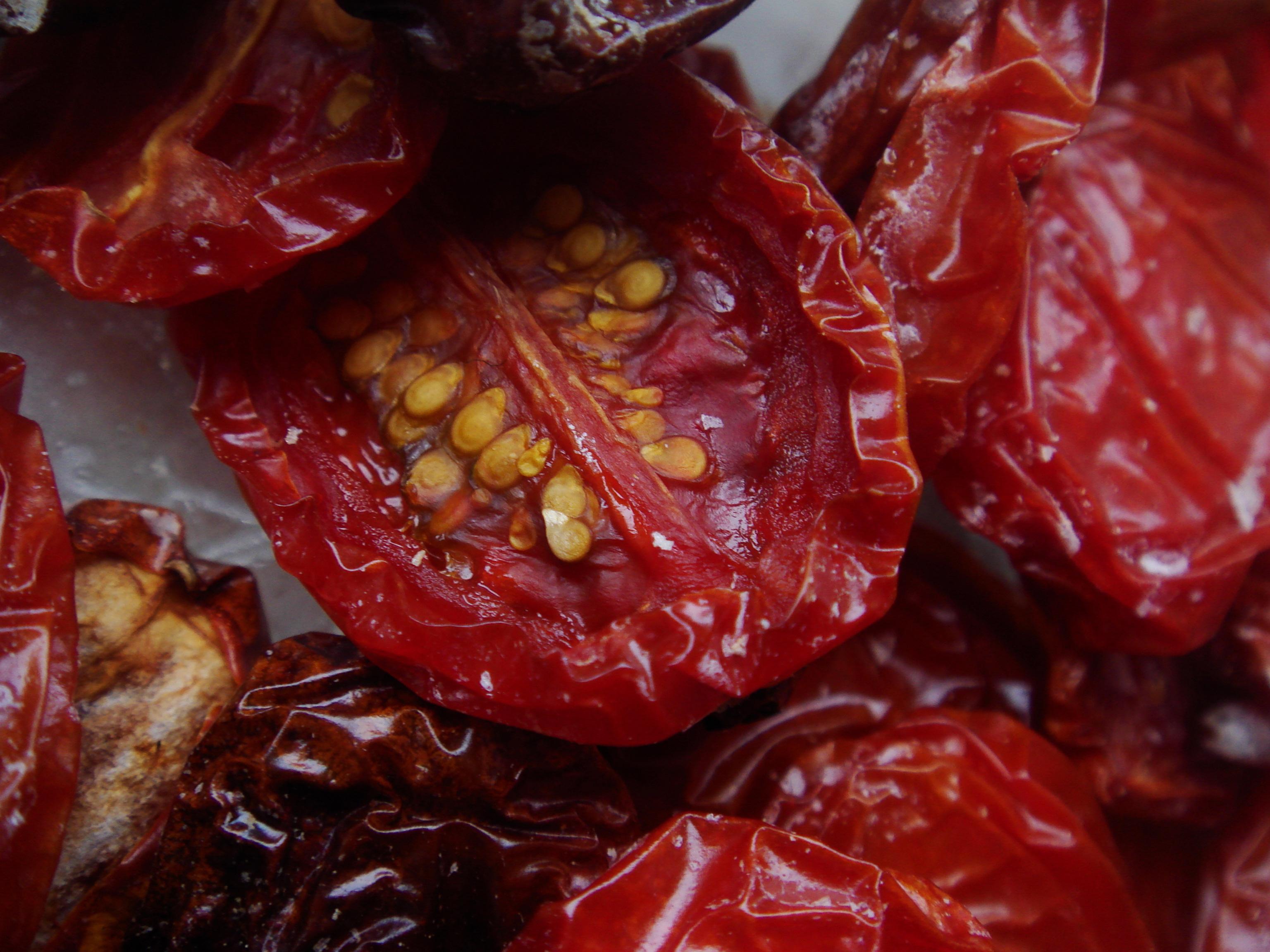 Torkade tomater..