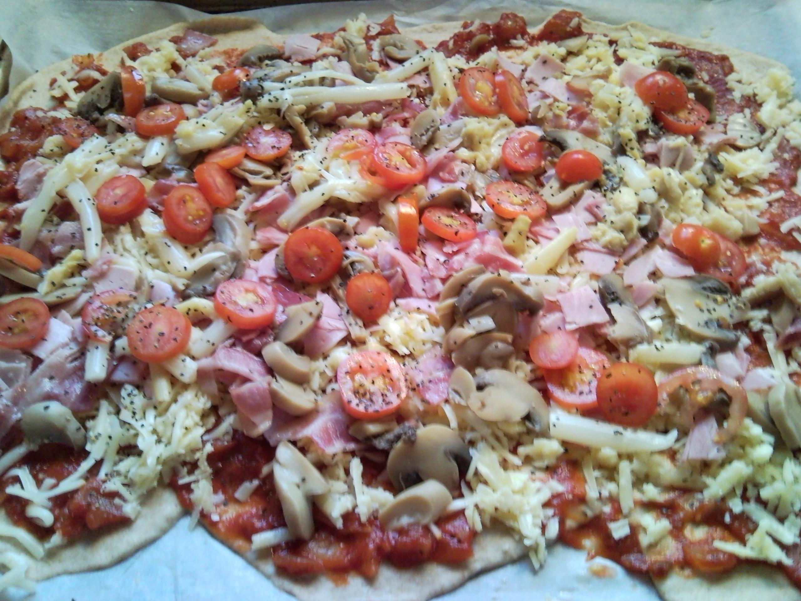 Pizza á la Nett..