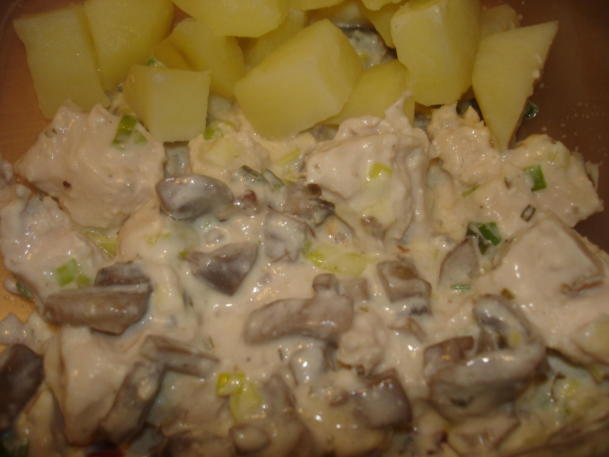Lenas variant av kyckling à la Rickard