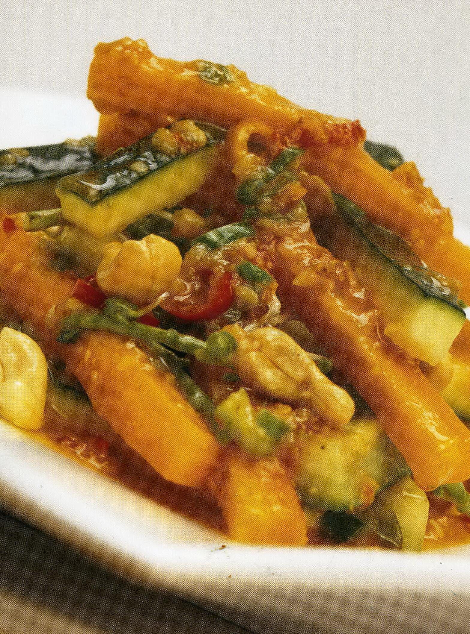 Kryddiga grönsaker
