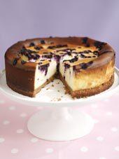 blåbärscheesecake fryst