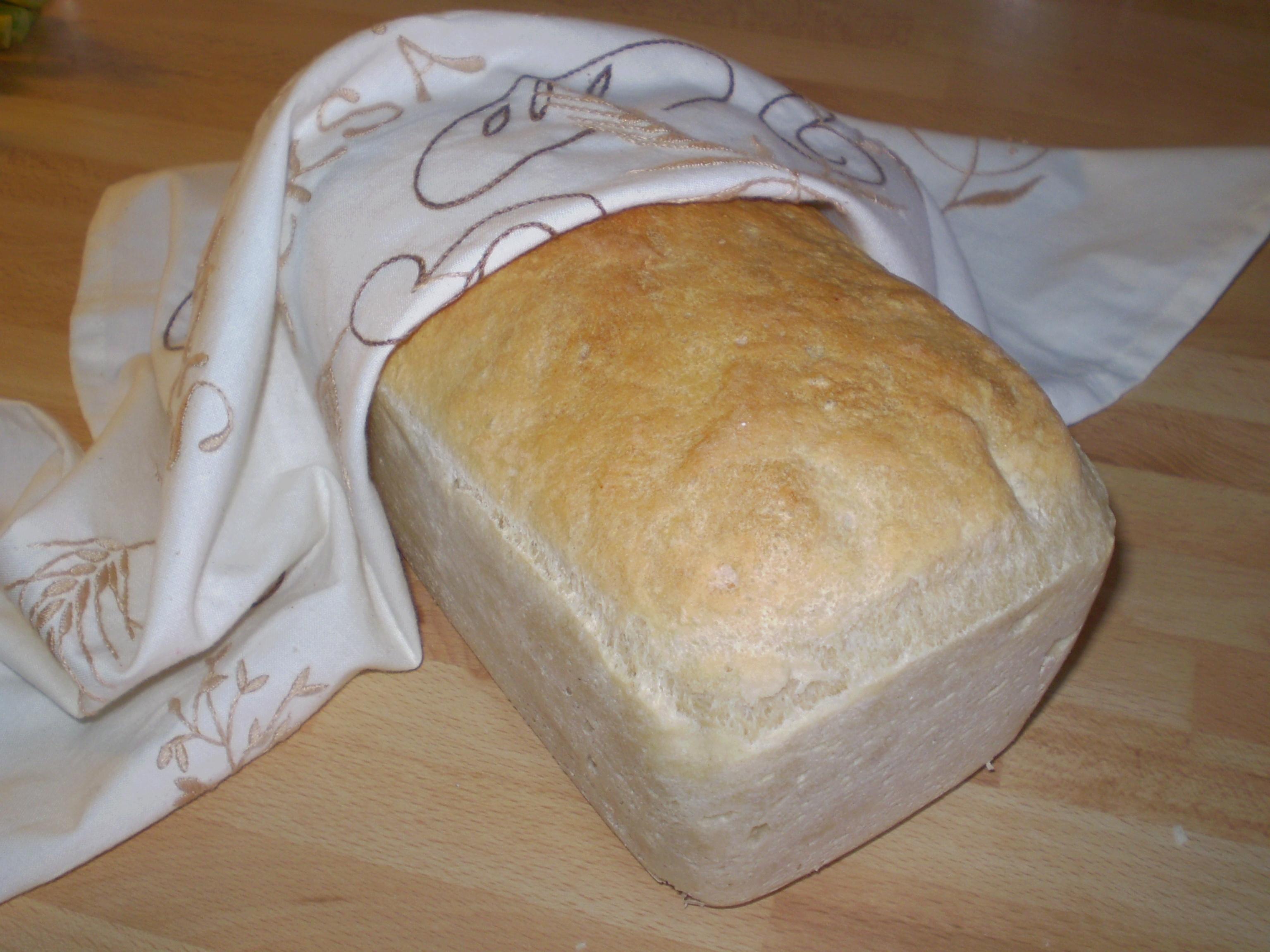 Dinkelbröd med siktat mjöl