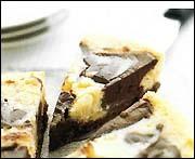 choklad ostkaka