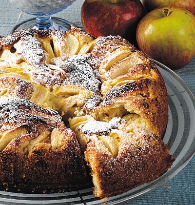 Äppeltårta