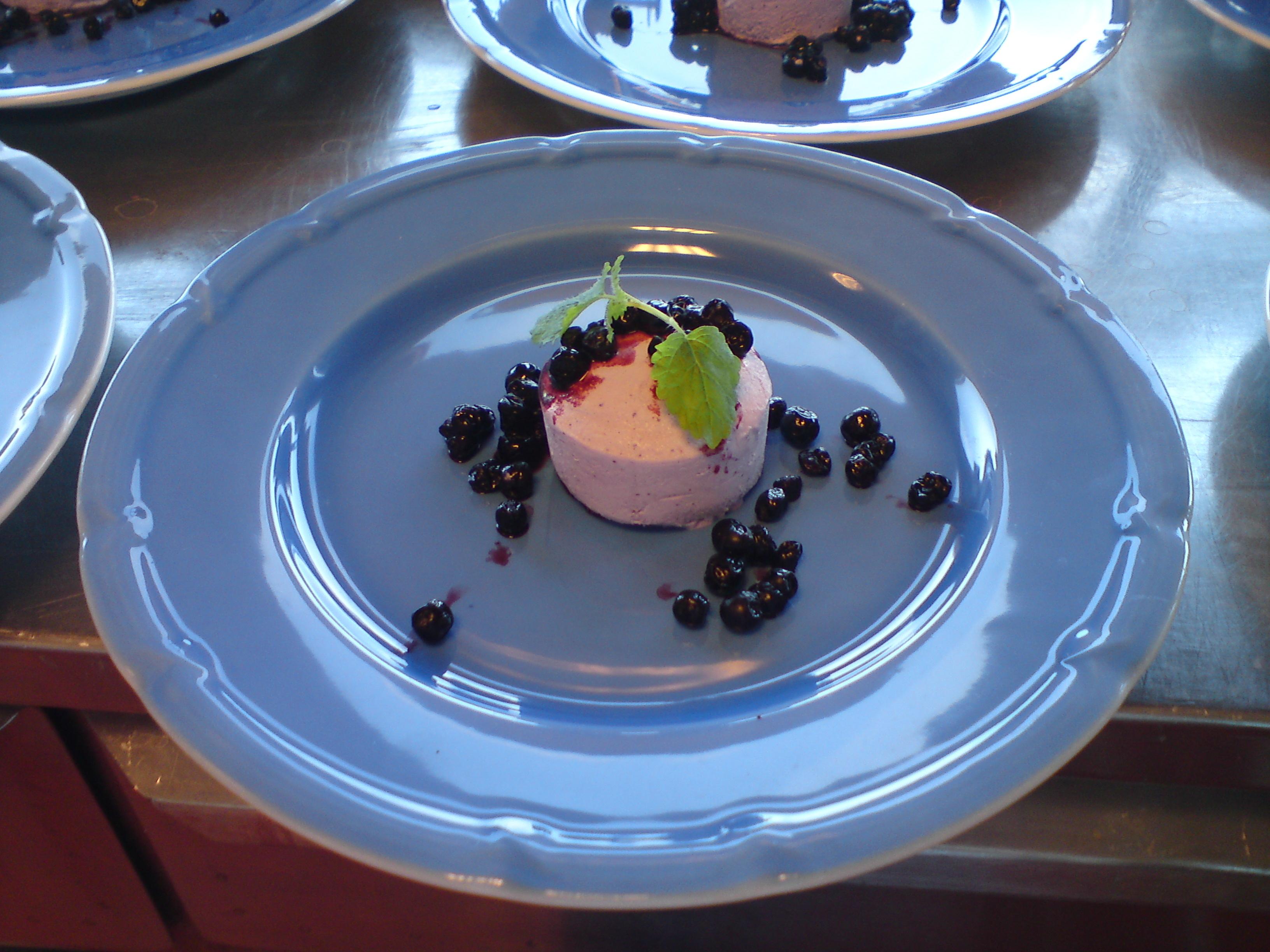 blåbärsparfait