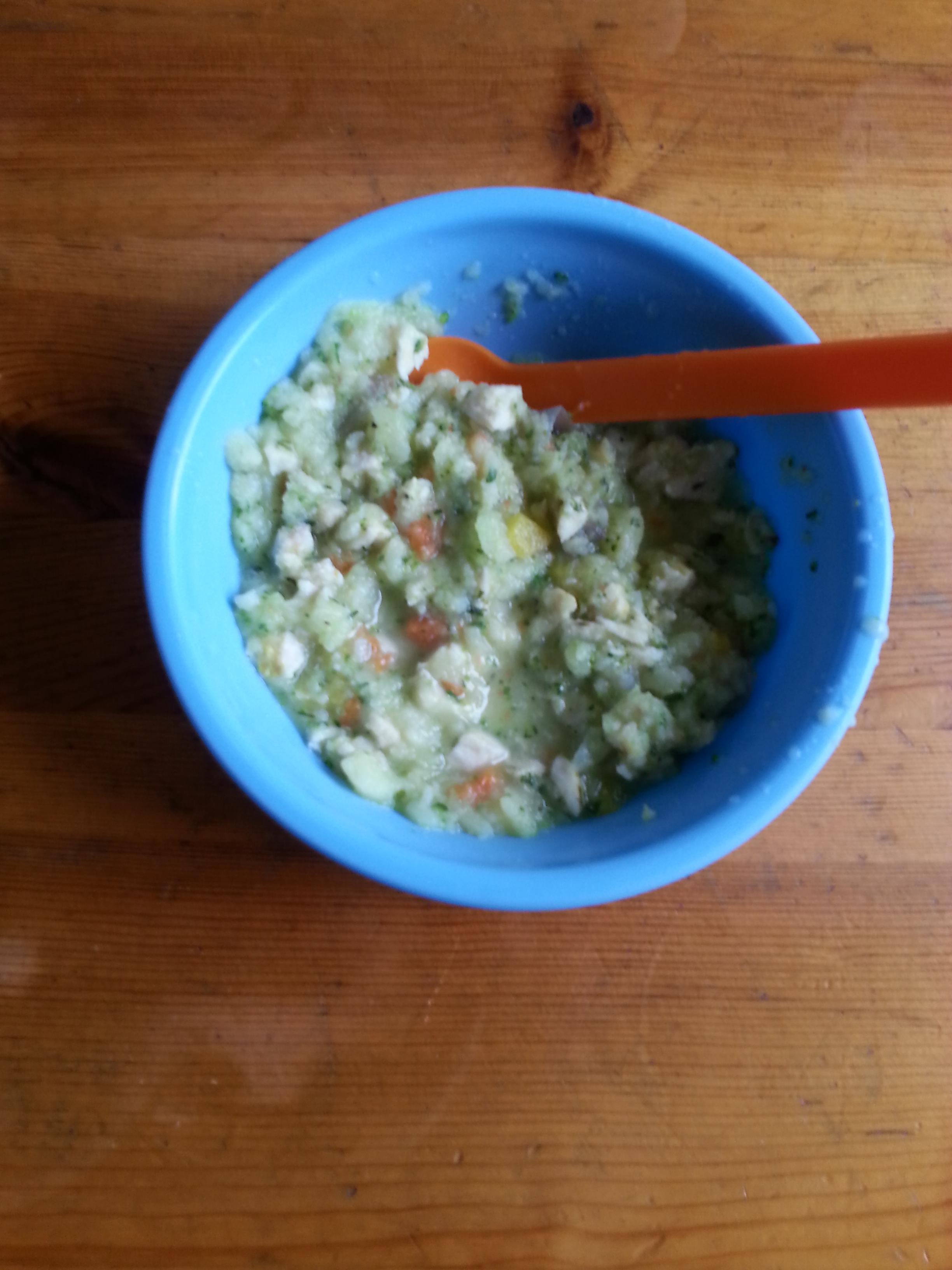 Barnmat kyckling/grönsaker