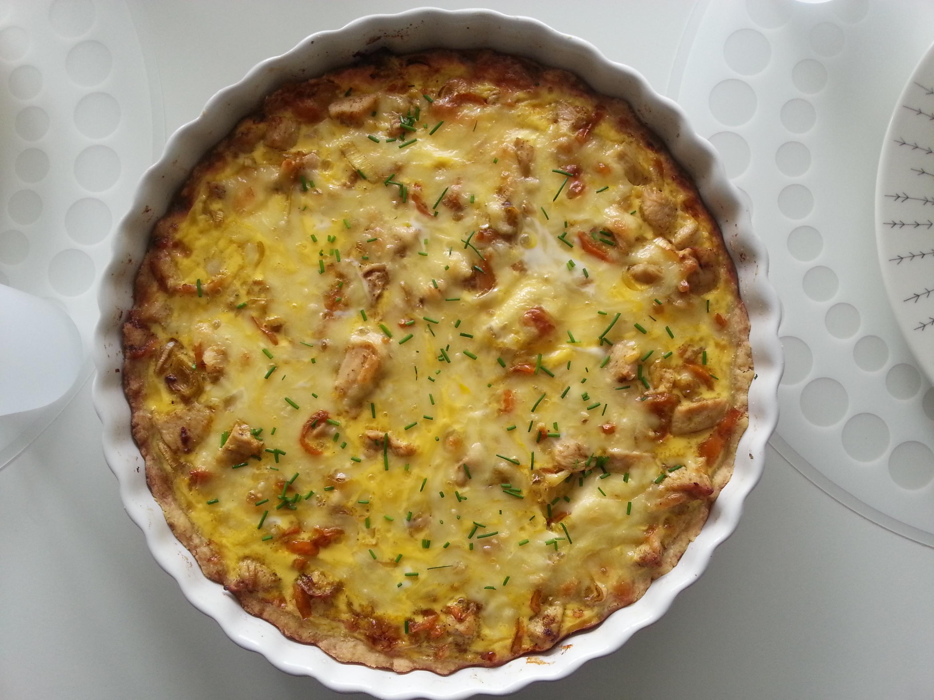 Kycklingpaj med curry